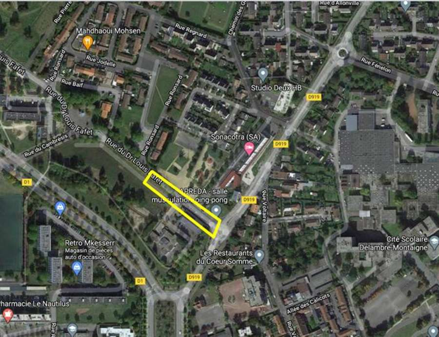 Amiens Nord - Rue Fafet - Requalification - Info Travaux 1