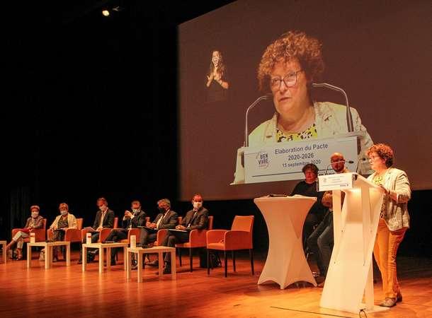 Le Pacte pour Bien Vivre à Amiens un projet social innovant conçu dans une large concertation et au service de tous les Amiénois © Sébastien Coquille / Amiens Métropole