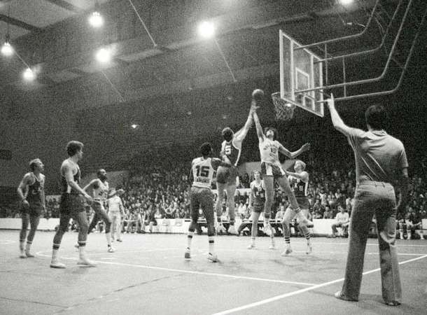 Quand Berck était un phare du basket  © Collection Vincent Janssen