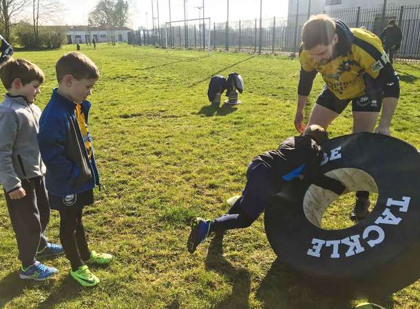 Le rugby des tout-petits  © Rugby Club Amiénois