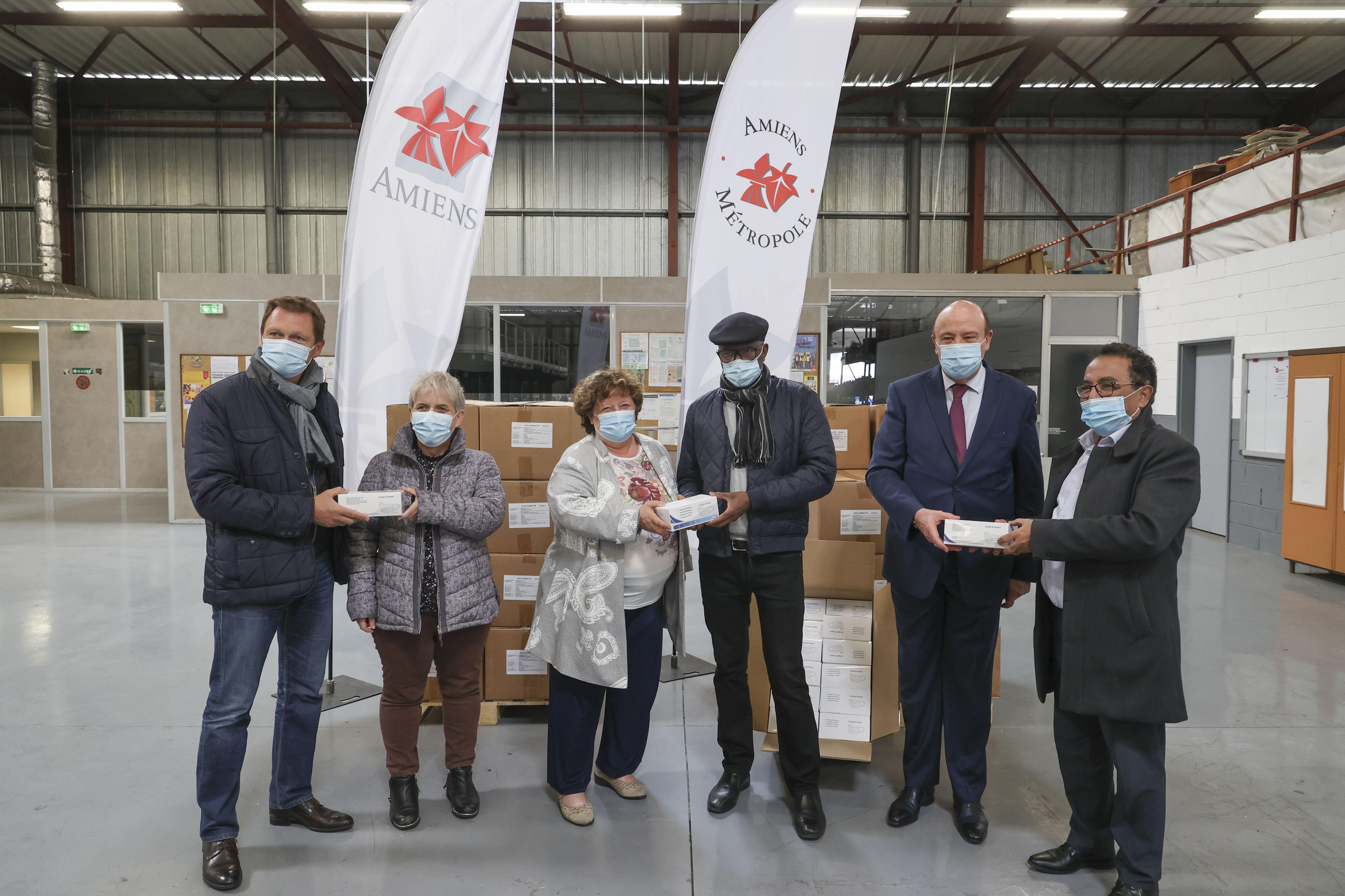 72 000 masques donnés au Maroc, au Cap-Vert et à la Tunisie